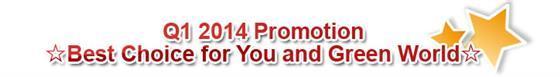 Q1 2014 Promotion