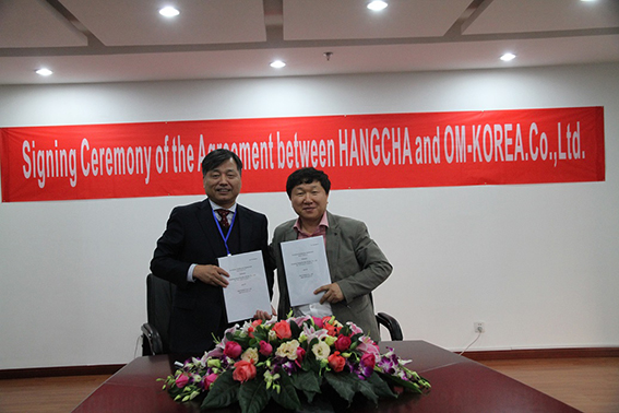 HANGCHA Appoints OM Korea As Exclusive Dealer In Korea