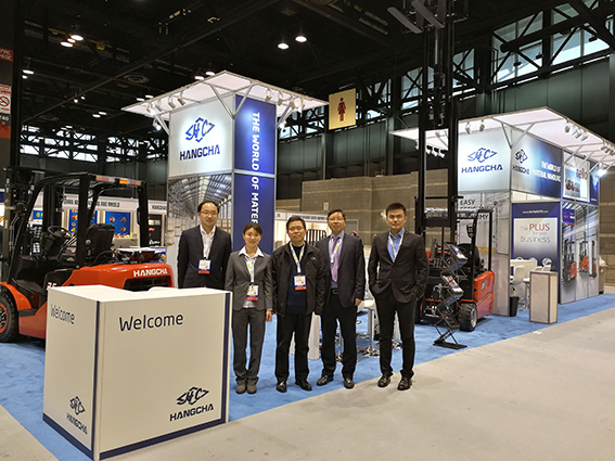 HANGCHA At PROMAT: FOCUS ON NORTH AMERICA