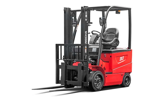 Electric Cushion Forklift 3,000-6,500lbs