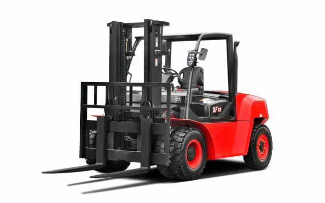 Big  Pneumatic Forklift  11,000-15,500lbs