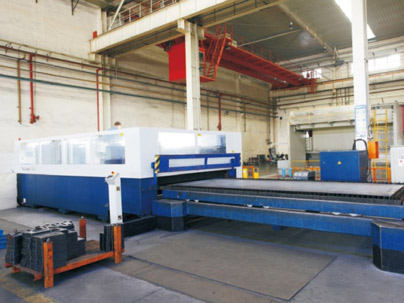 CNC Laser Cutting Equipment