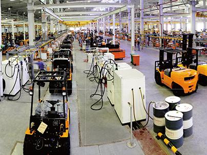 Forklift Assembly Lines