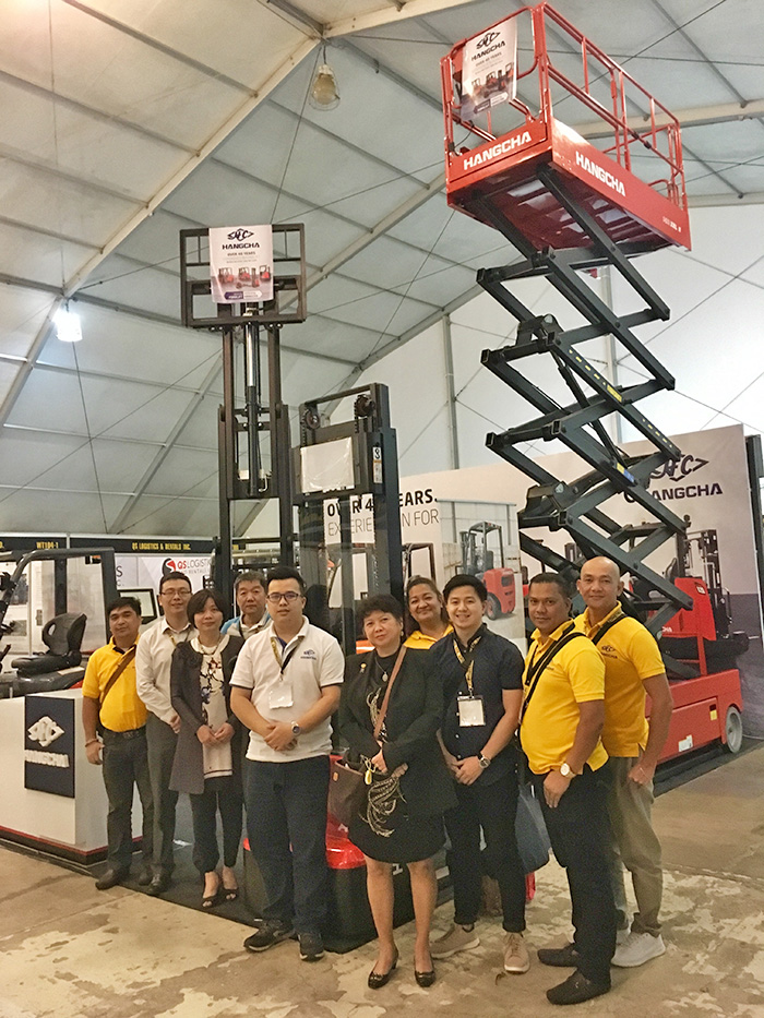 Hangcha Philippines Philconstruct 2018