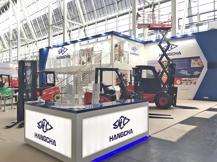 Hangcha Group Appears At CeMAT 2018 With Blockbuster Products To Represent The New Look Of Chinese Manufacturing