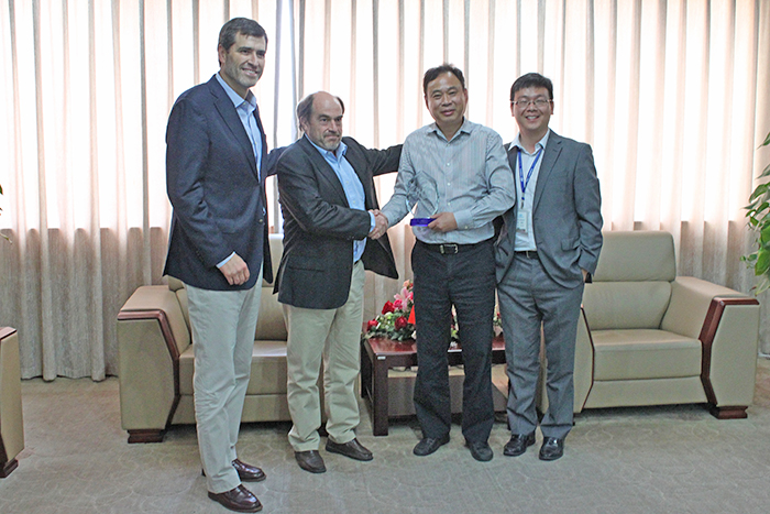 Dercomaq S.A. Visited Hangcha Headquarters