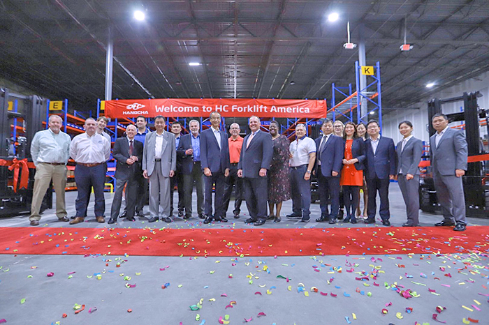 Grand Opening Of HC Forklift America Corporation