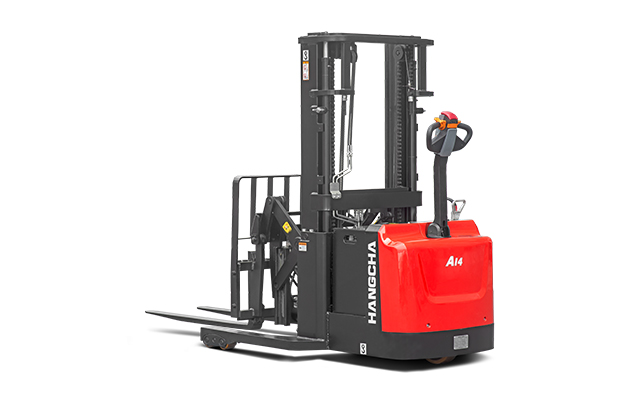 Industrial Walkie Reach Stacker 3,000lbs