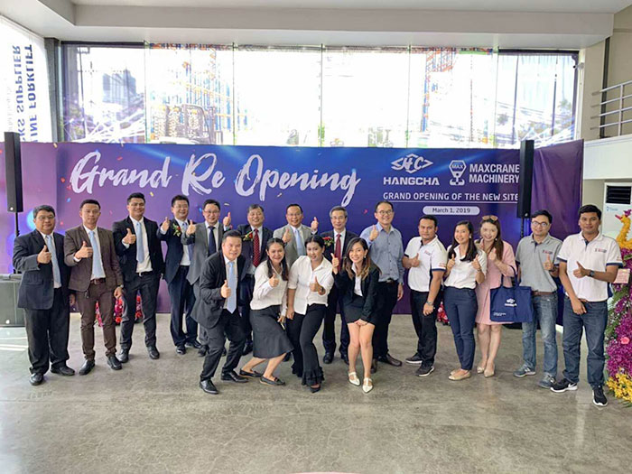 Hangcha Holds Grand Opening Ceremony For Its New Site In Bangkok