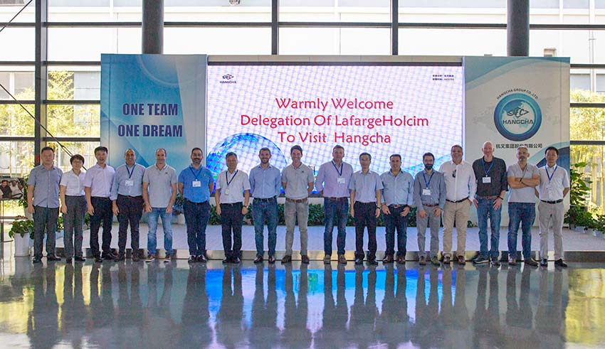 LafargeHolcim Delegation Visited Hangcha Headquarters On Sep. 18th, 2019