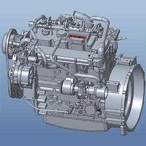 Tier 4F 3.6L DEUTZ Engine