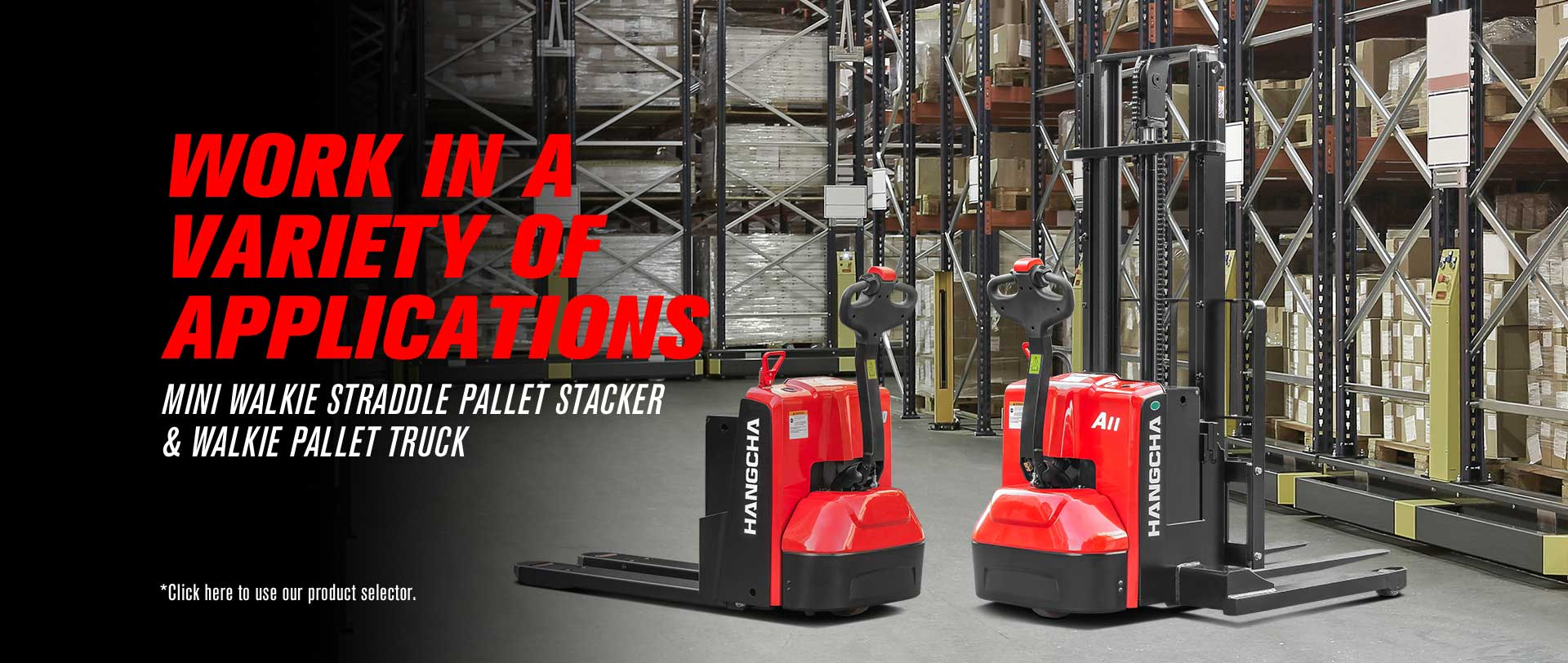 Walkie Pallet Truck&Pallet Stacker