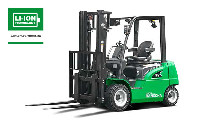 Light Duty Electric Pneumatic Forklift With Lithium-ion 4,000-7,000lbs