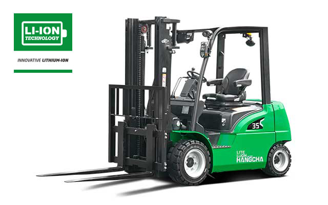 Lite Duty Electric Lithium-ion Pneumatic Forklift 4,000-7,000lbs