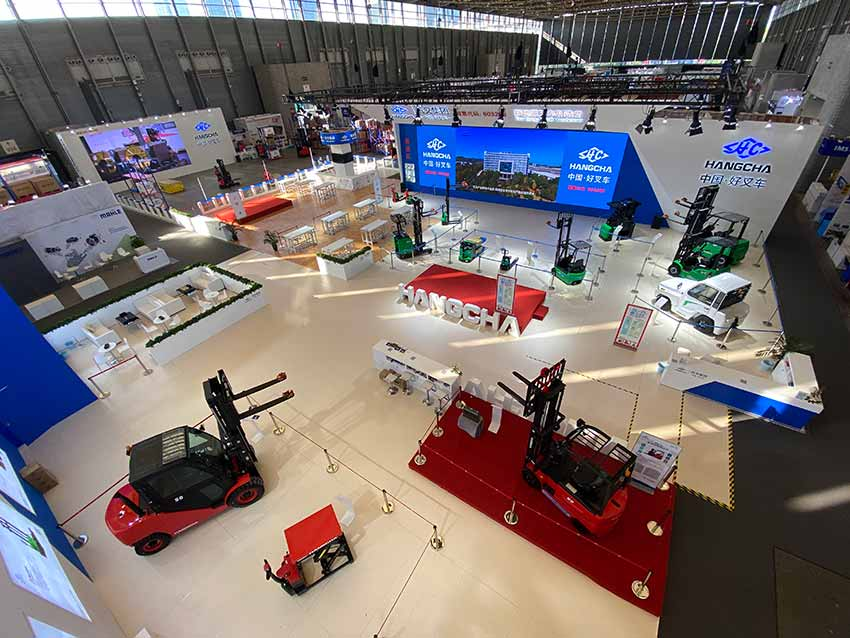 HANGCHA Presented A Grand Showcase At 2020 Asia CeMAT