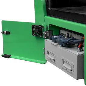 FBT10Li Battery Compartment side view