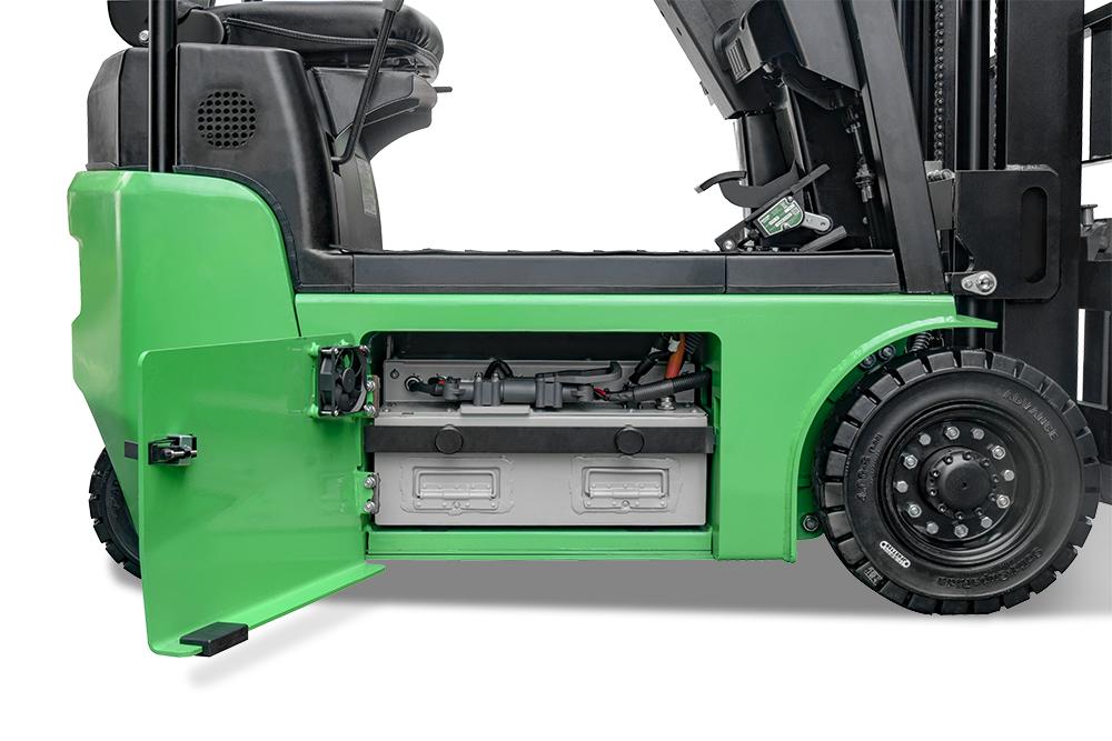 FBT10Li Battery Compartment