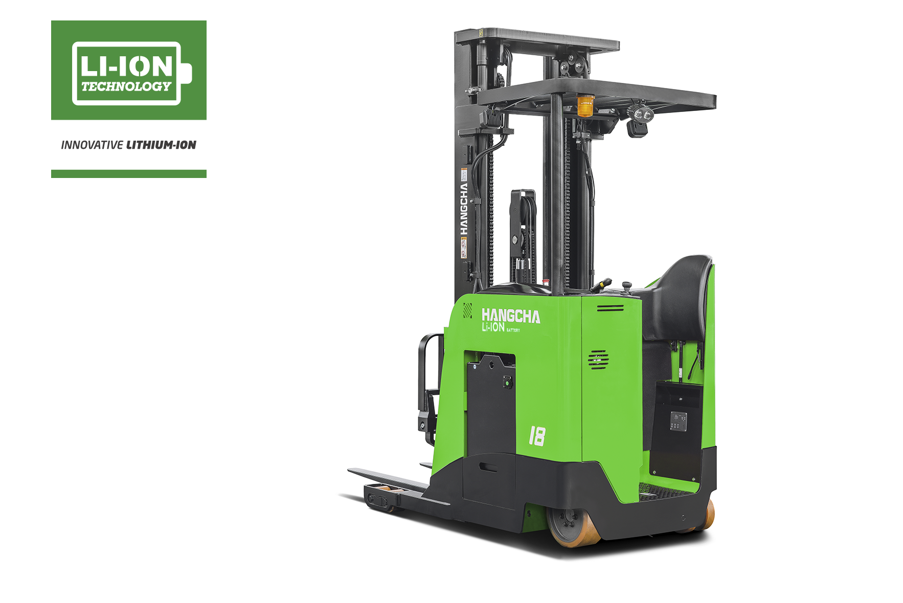Electric Lithium-ion Pantograph Reach Truck 3,000-4,500lbs