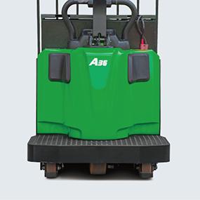 ECR36Li Operator Compartment