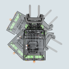 FB30CLi Ghosted Overhead View