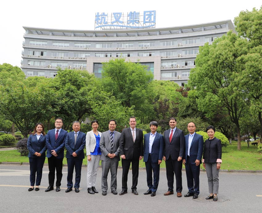 The Consulate General Of Canada In Shanghai Visited Hangcha Group