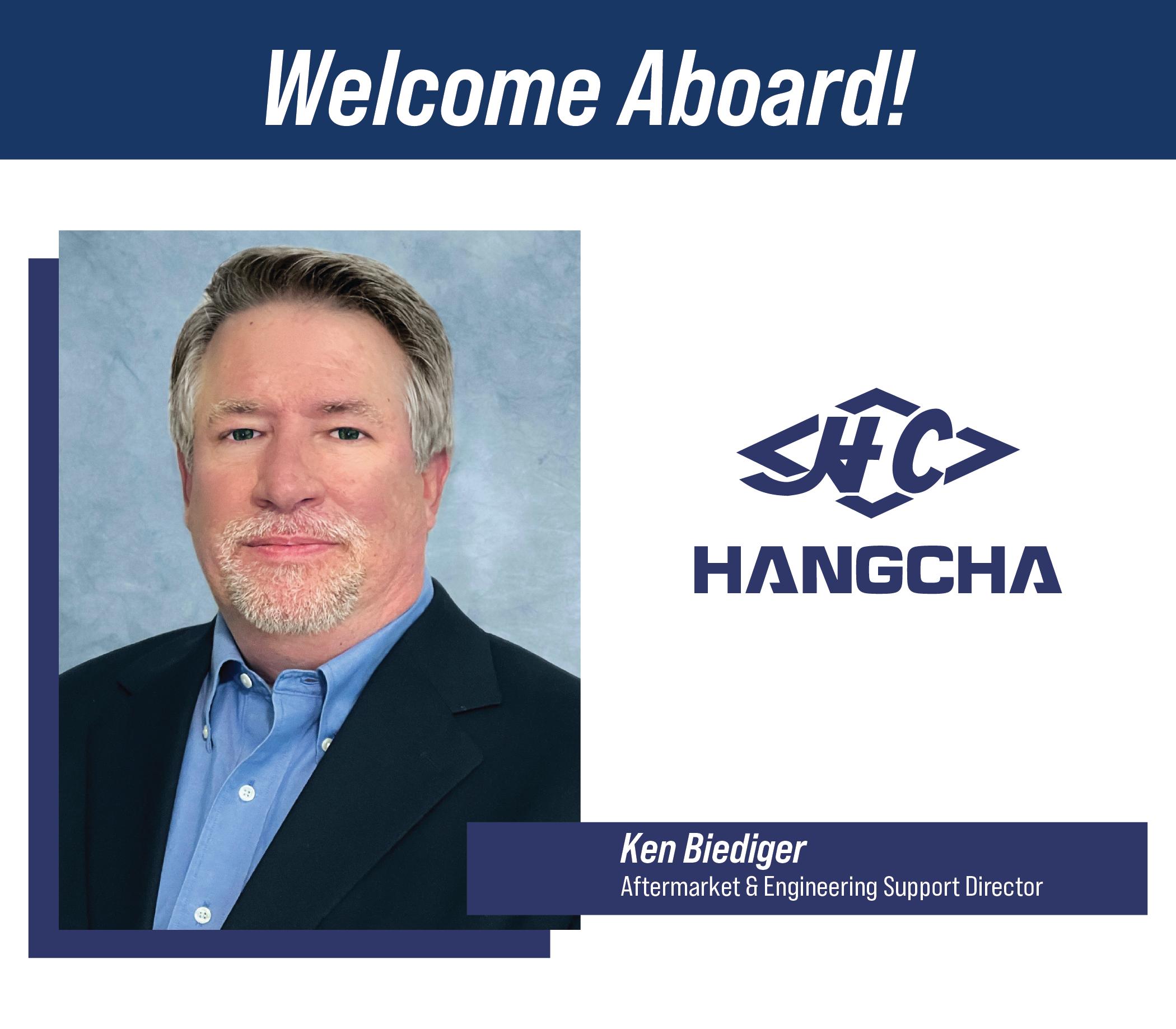 Ken Biediger Joins HC Forklift America Corporation