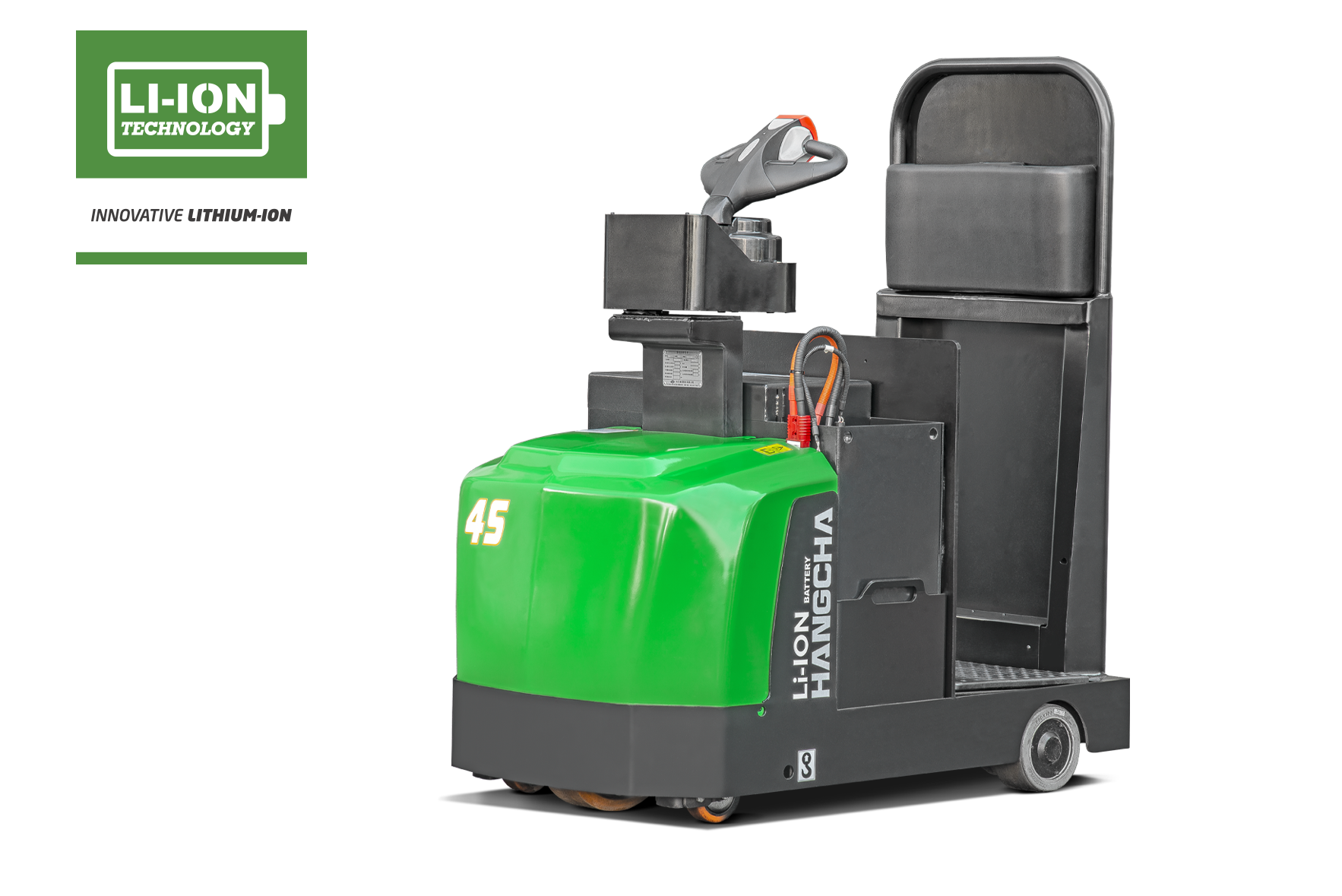 Electric Lithium-ion Stand-Up Tow Tractor 10,000lbs